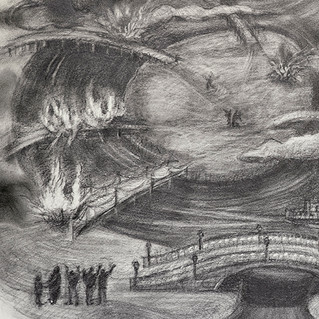 Burning Bridges, detail 2