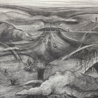 Burning Bridges, detail 3