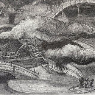 Burning Bridges, detail 1
