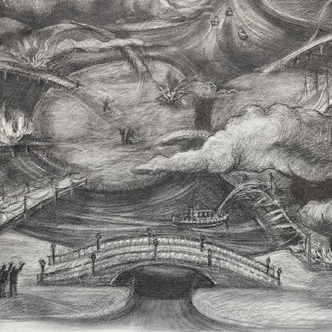Burning Bridges, detail 5