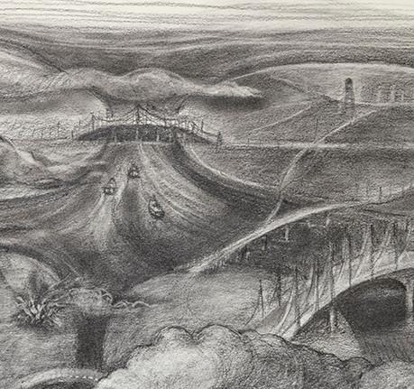 Burning Bridges, detail 6