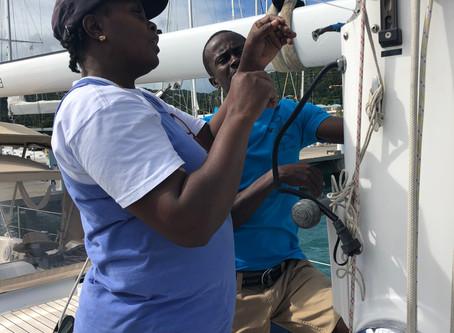 Rig Repairs, Rum & Rugby in Antigua