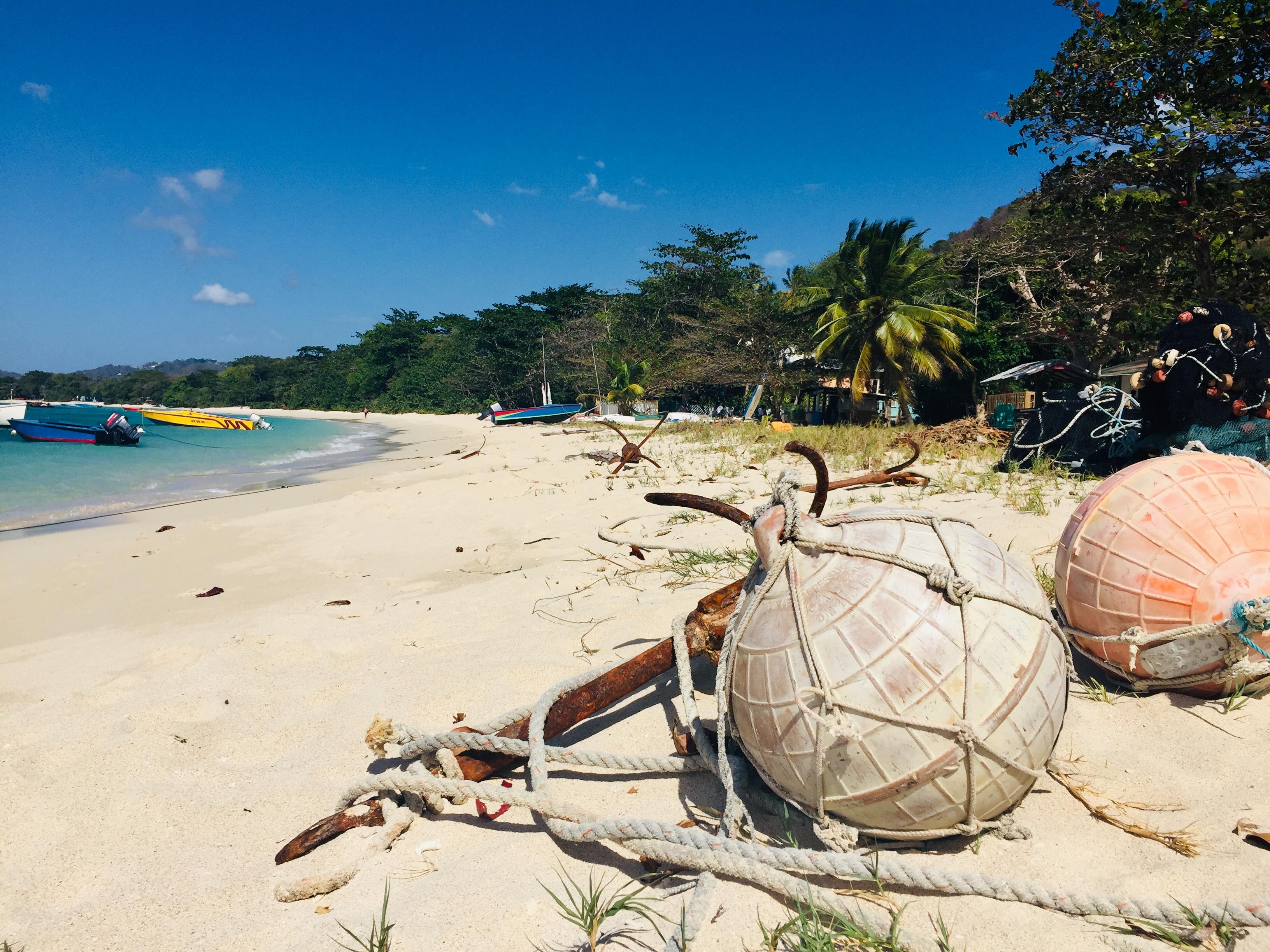 Fishermans base at Paradise Beach Carria