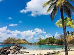 Anse Mitan Lagoon