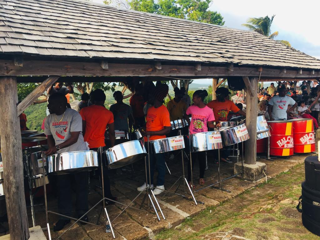 The Steel Band at Shirley Heights
