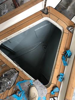 2018 07 Anchor locker refurb