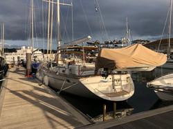 Moored at Saxon Wharf