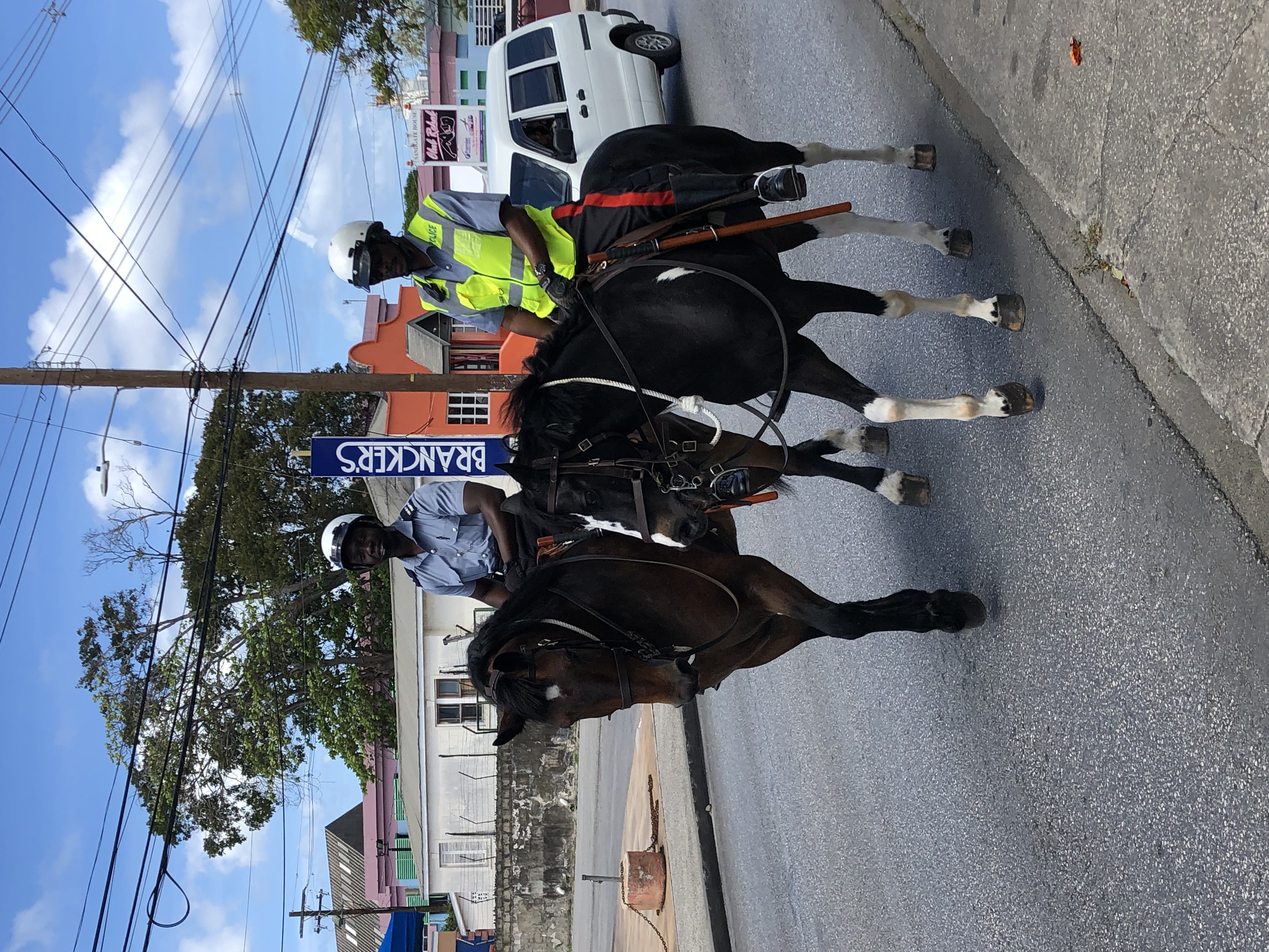 Policing Barbados Style