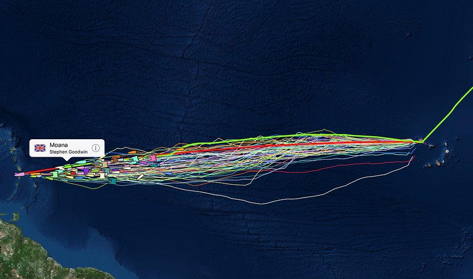 Mindelo to St Lucia - ARC+ Yacht Positio