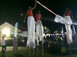 The Fantastic Stilt Walkers