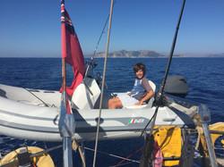 Leaving Mallorca