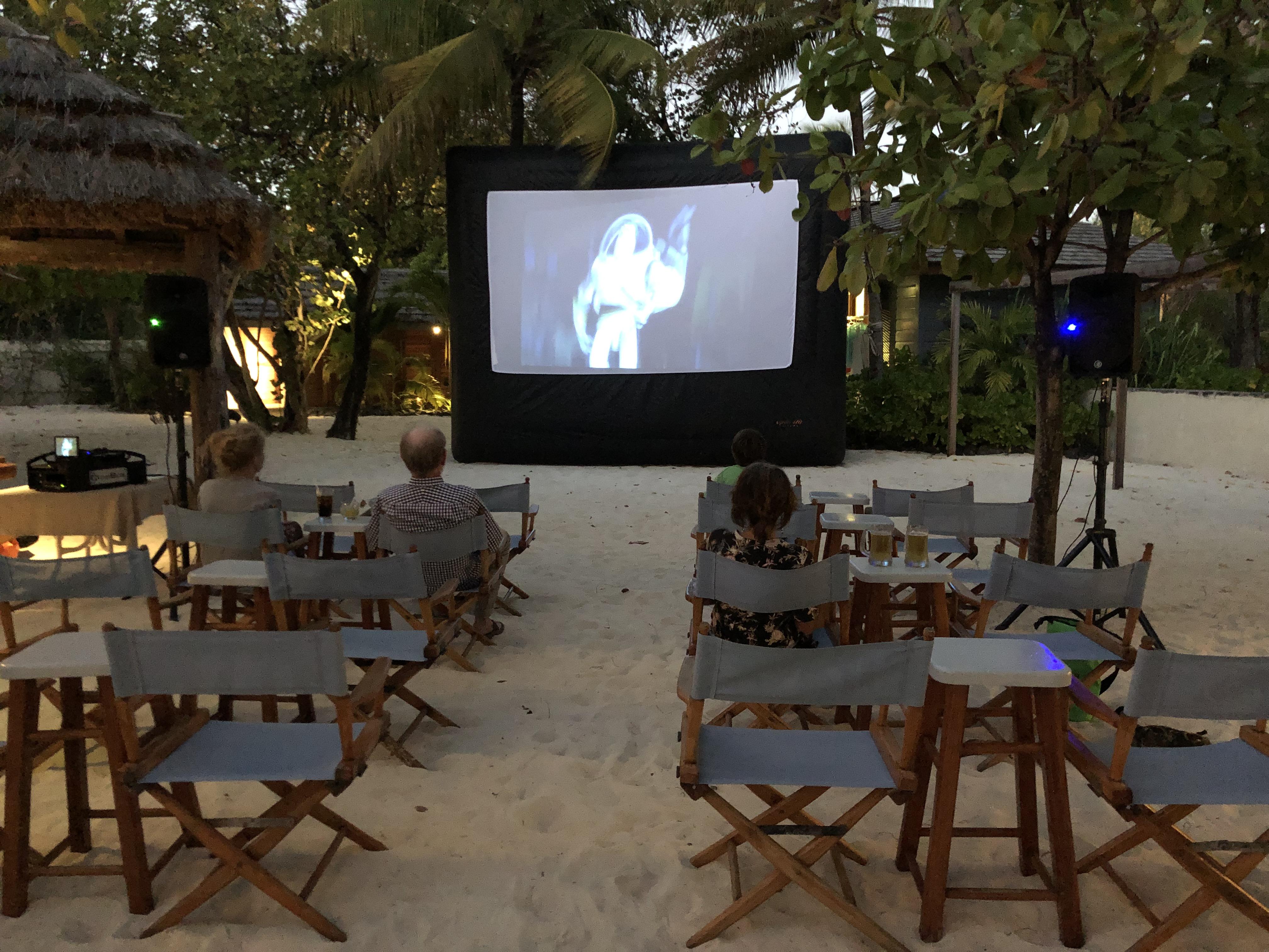 Beach Film Night at Goaties on PSV