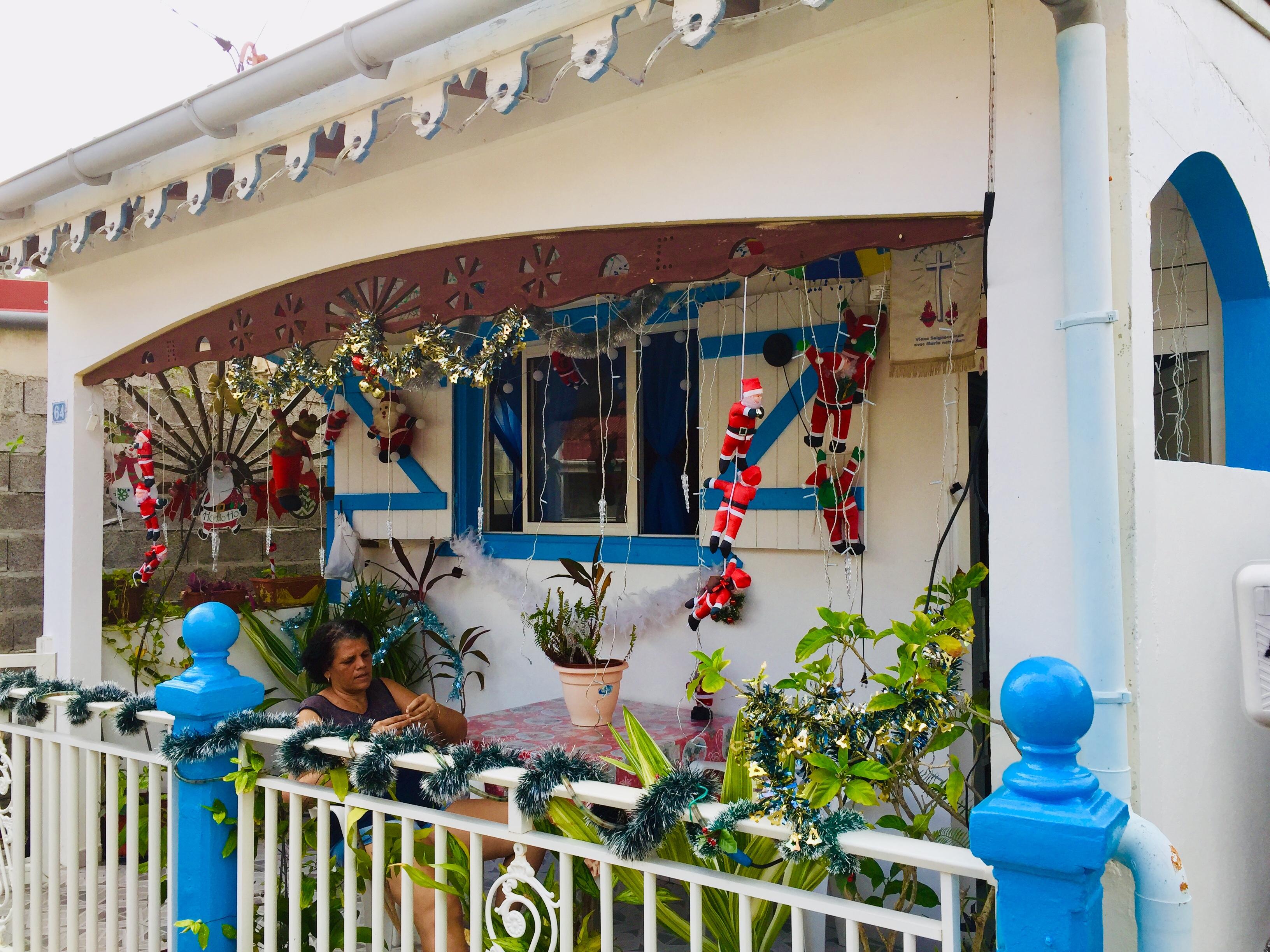 Caribbean Christmas Deco