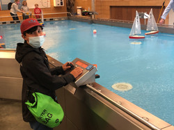Remote Control Sailing at the NMM