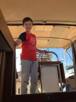 ARC+ Freddie arriving on board