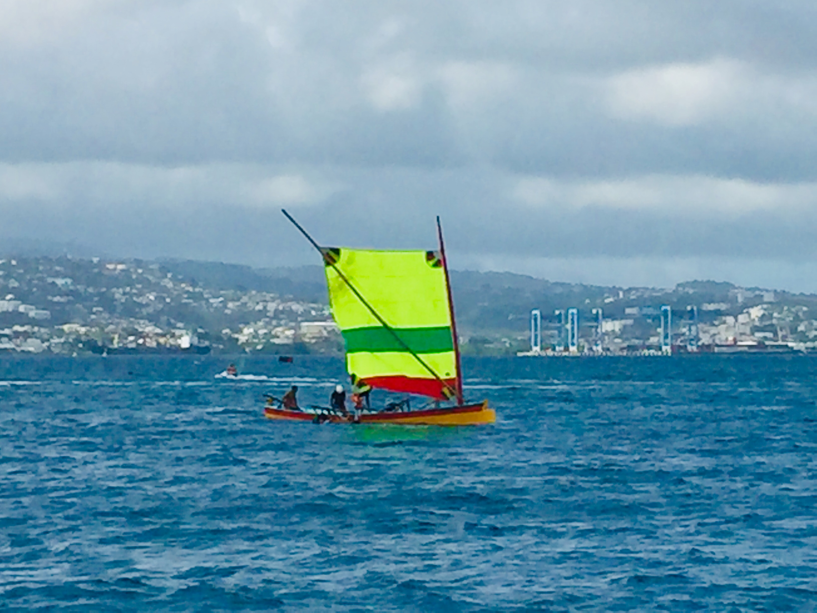 Traditional Martinique Sailing boat