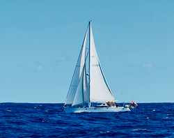Underway from Sao Miguel