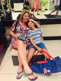 Auntie Jude with Freddie