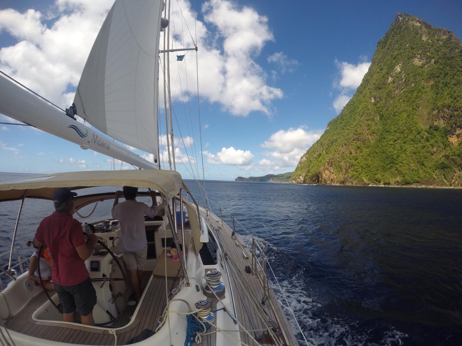 St Lucias West Coast