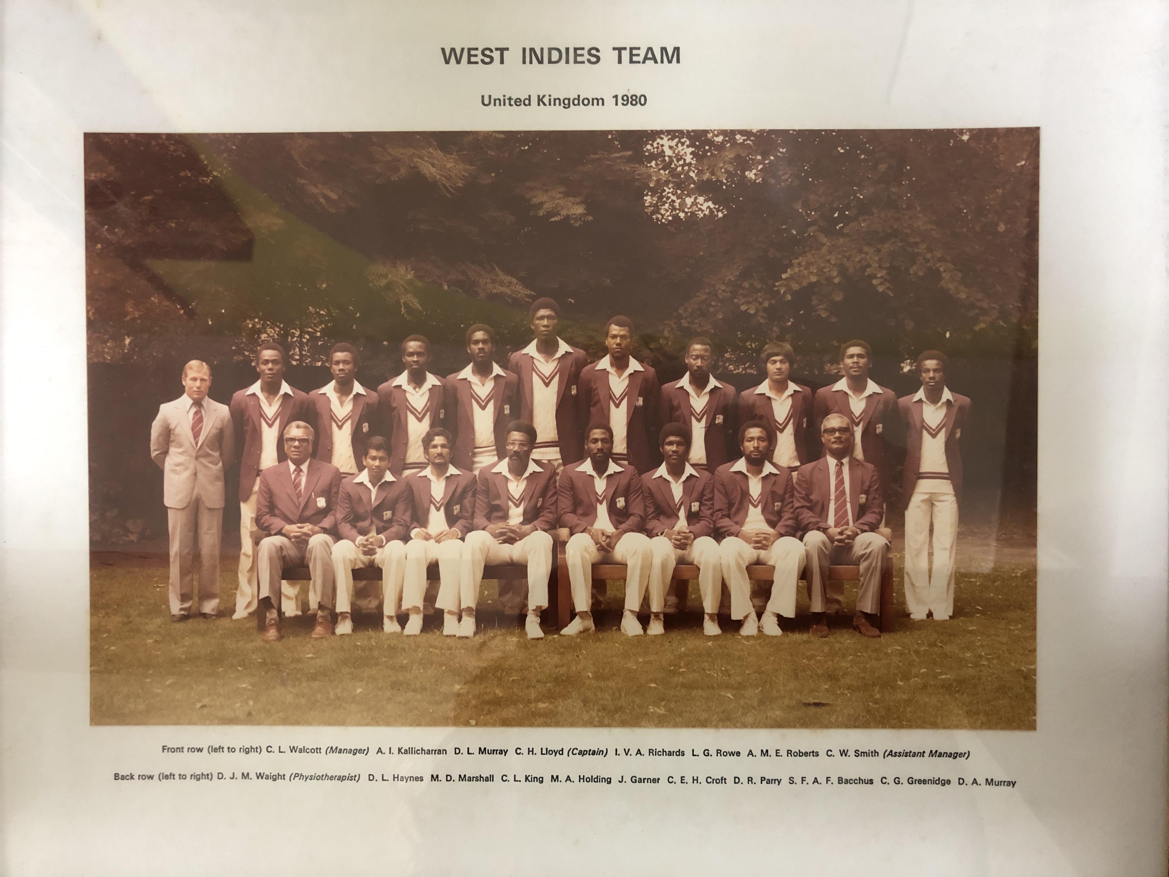 Tha Great Windies Squad at thr LBC Museu