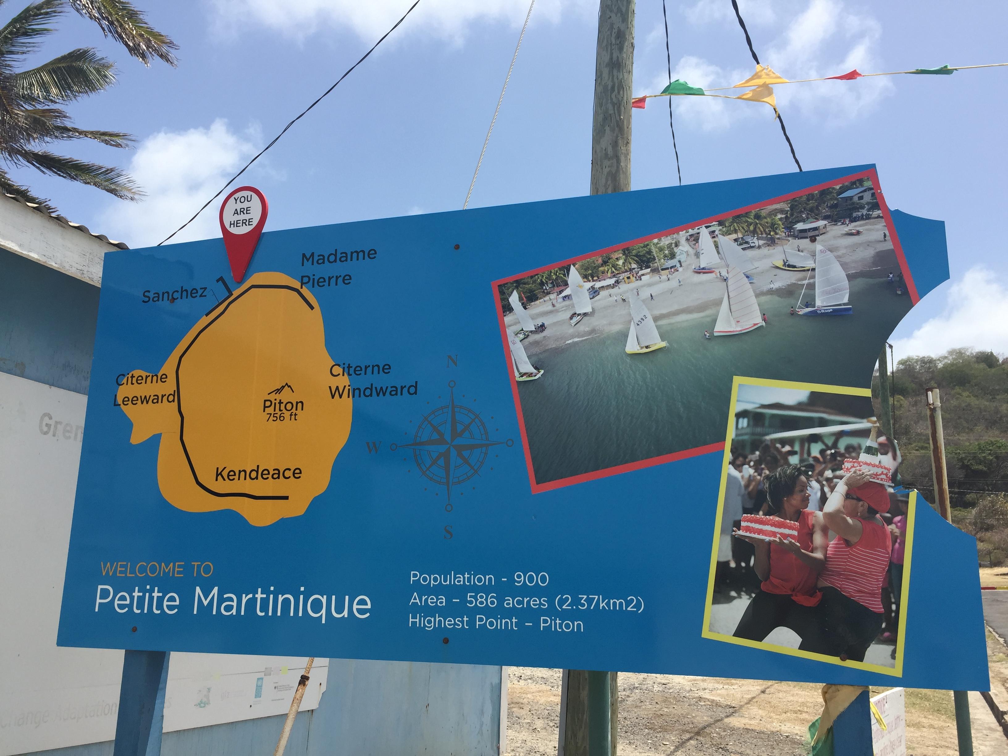 Petit Martinique welcome
