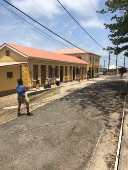 Petit Martinique Cricket at Primary Scho