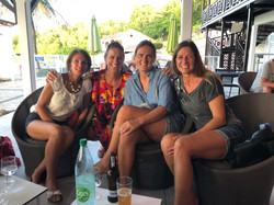 The Boat Girls at Les Saintes