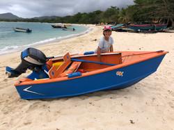 A super little Carriacou boat
