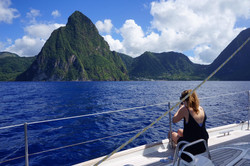 Lucy and the Petit Piton