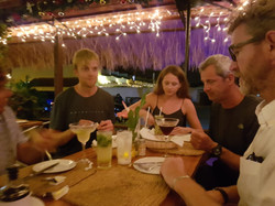 Our Last Supper at Spinnakers with Crew,