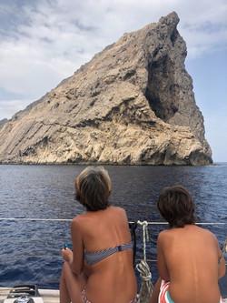 Rock Formations - Cala Boquer