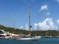 Lazy Leg - Hinckley Bermudan Yawl