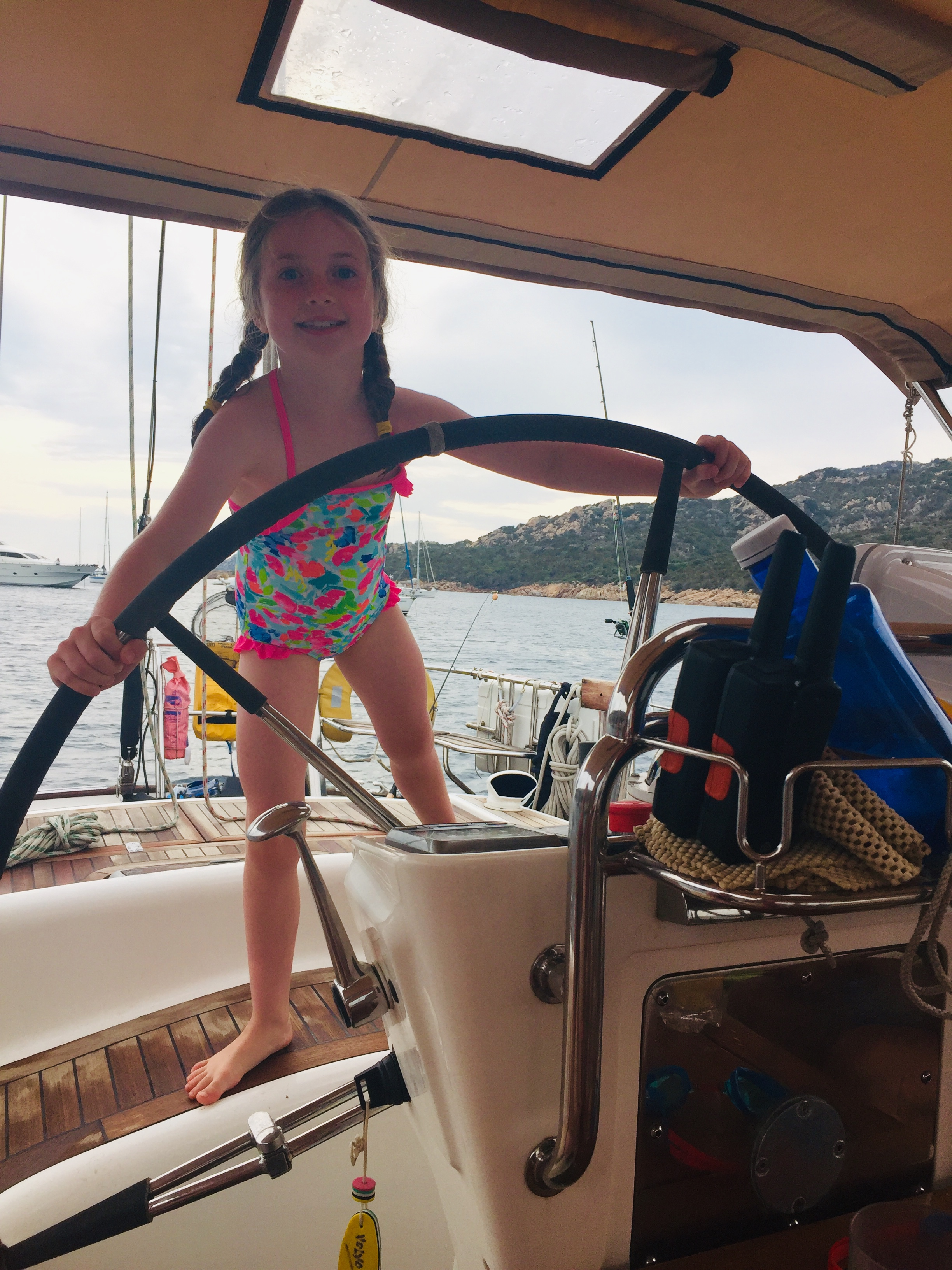 Arabella at the Helm