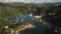 Marigot Bay from the Air