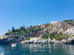 The anchorage S of M. del Este