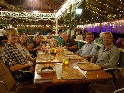 Our Last Crew Supper at Spinnakers with