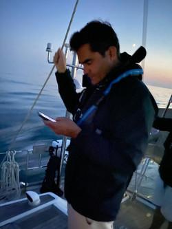 Brad Checks the ISS Orbit Time