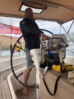 George at the Helm