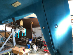 2018 04 Skeg hung rudder