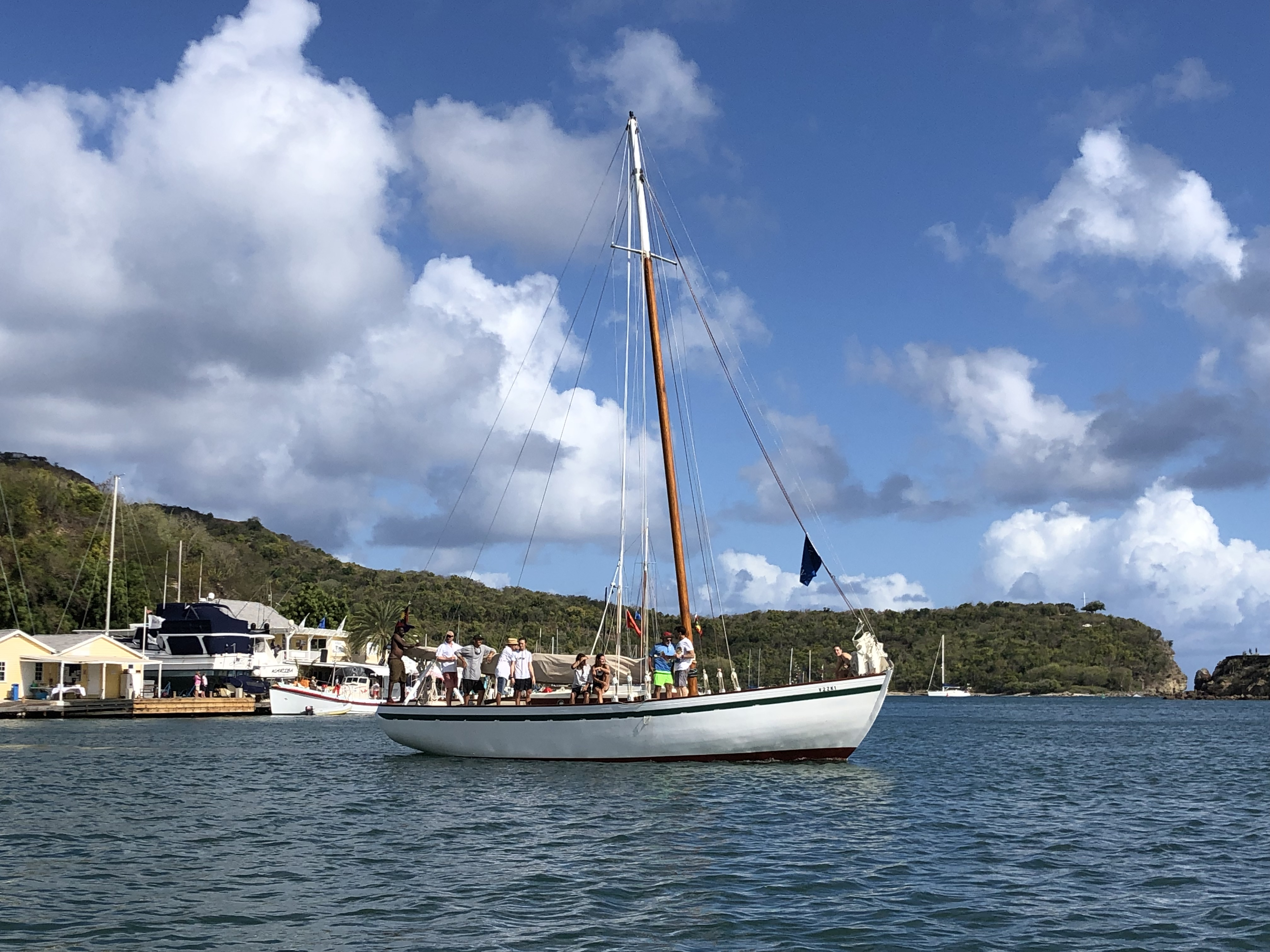 Traditional Carriacou Sloop