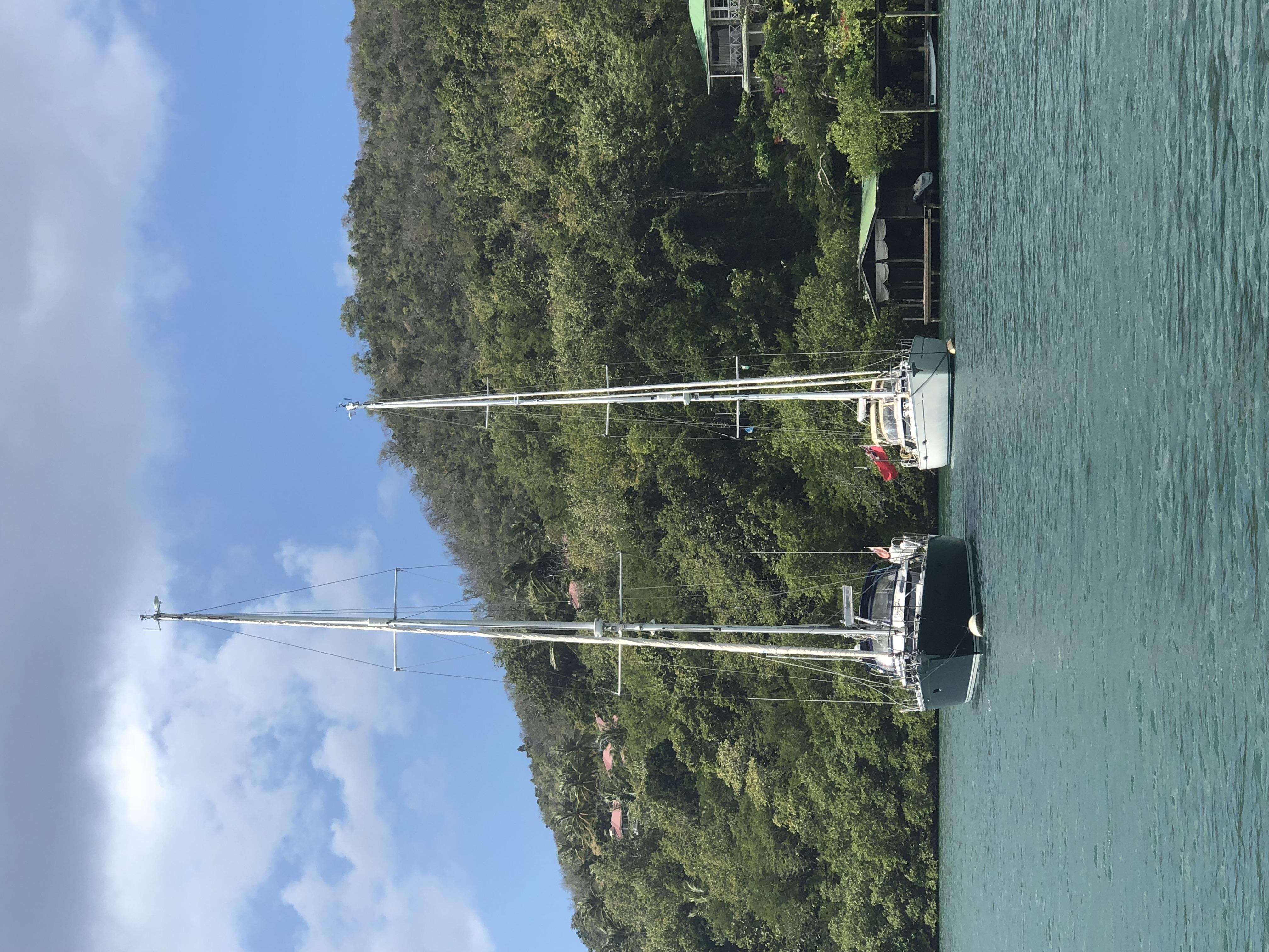 A Disco and Moana in Marigot Bay