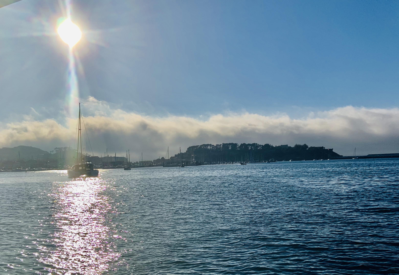 Baiona anchorage