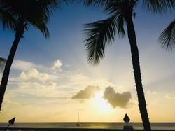 Moana alone in Barbados!
