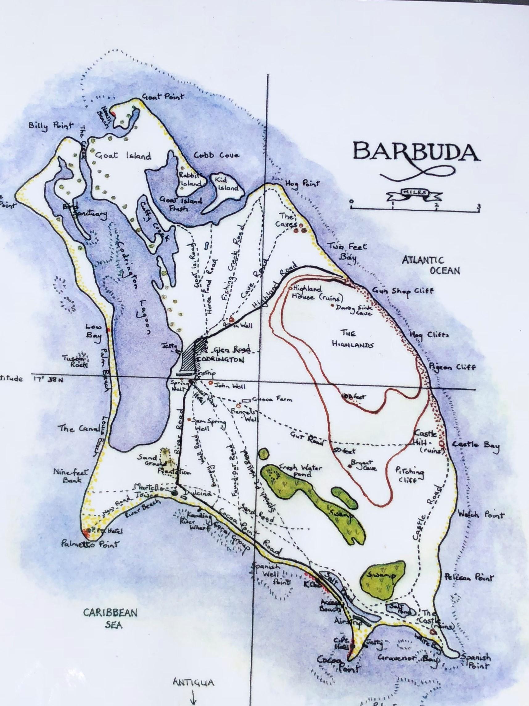 George's Island Map