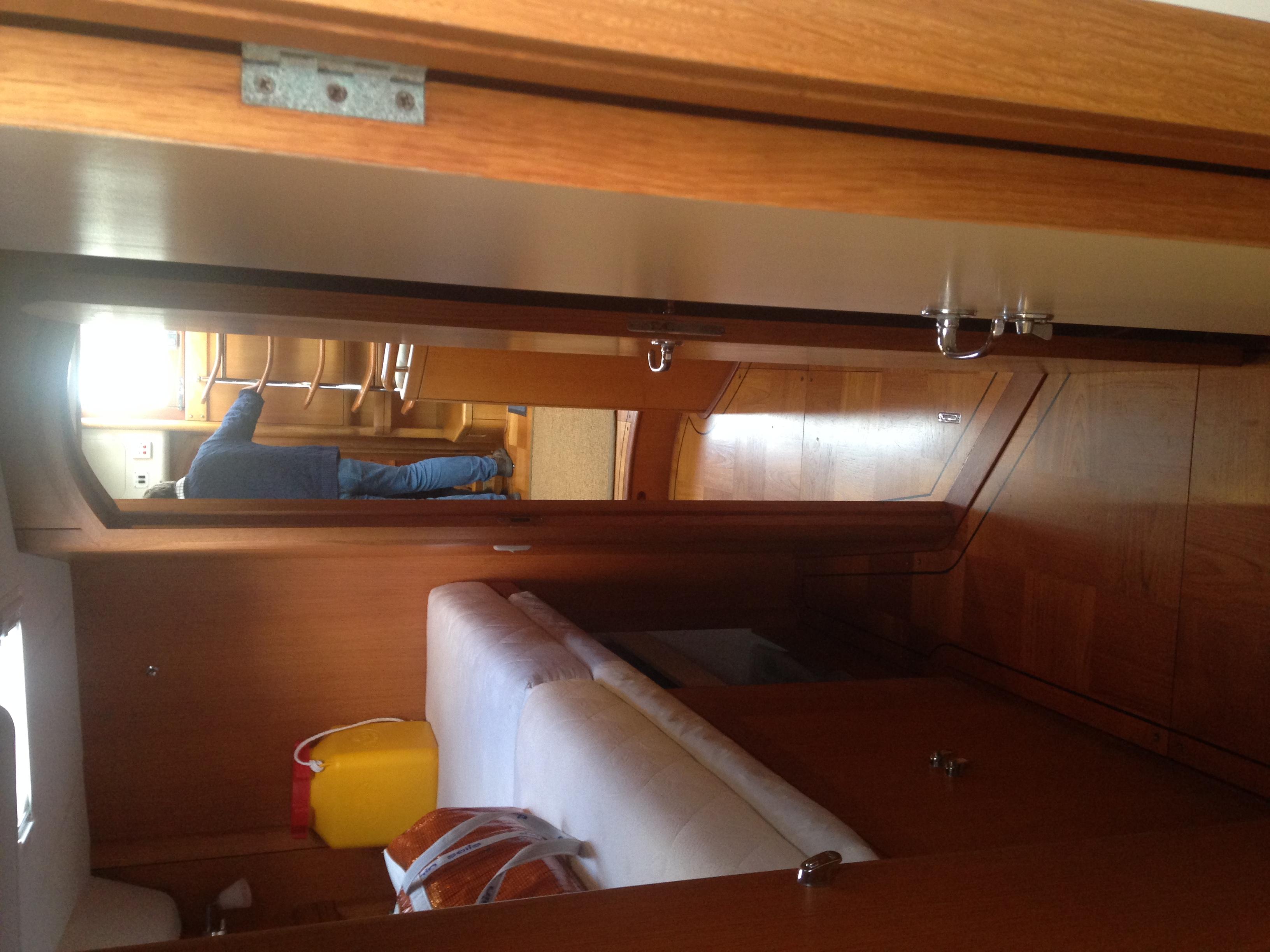Starboard Berth and Workshop