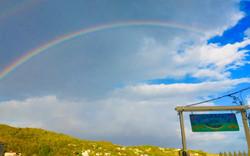 Rainbow at The Sugar Apple