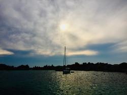 Sundown at Lavezzi