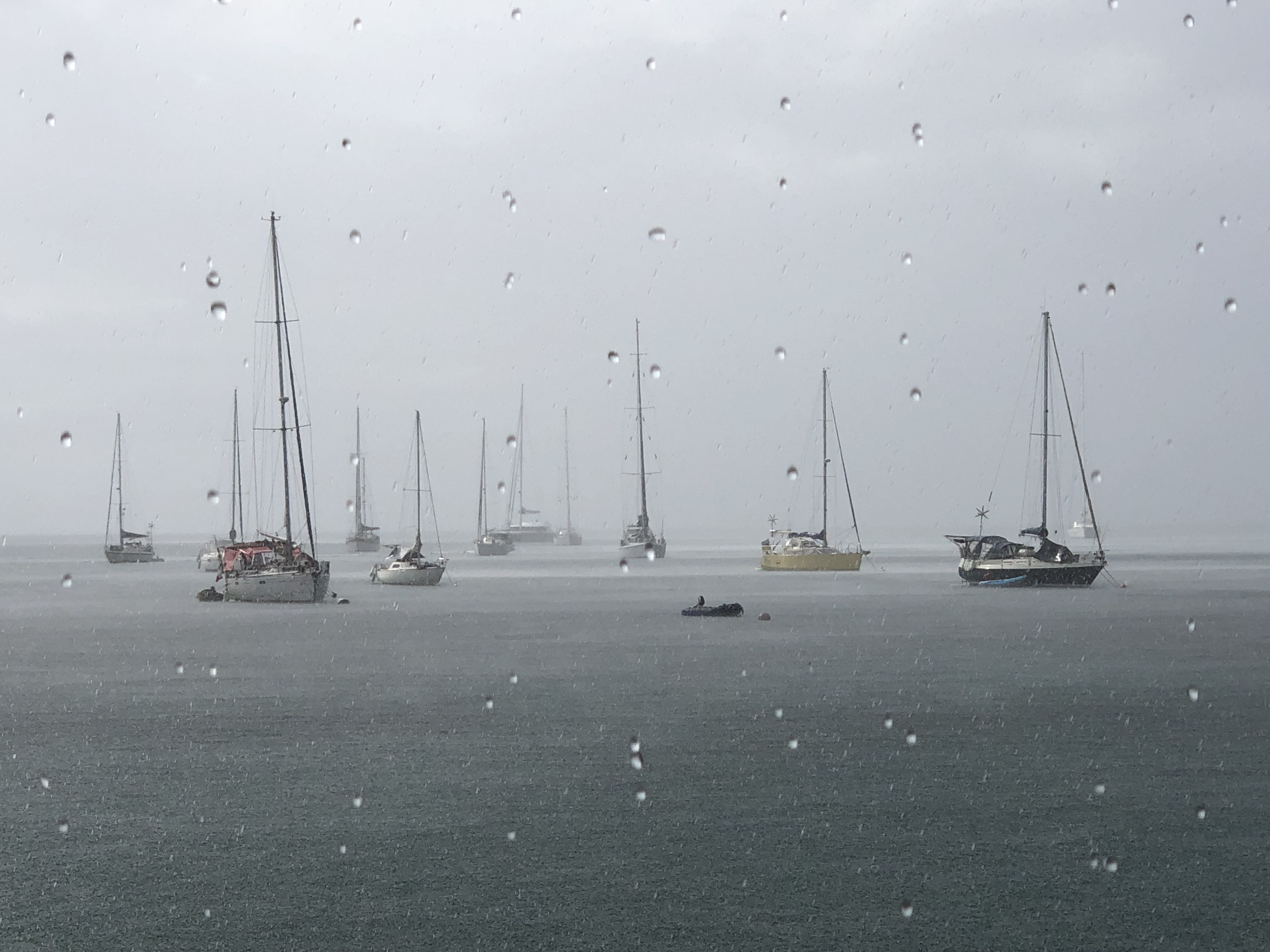 Rain in the Anchorage - Deshaies