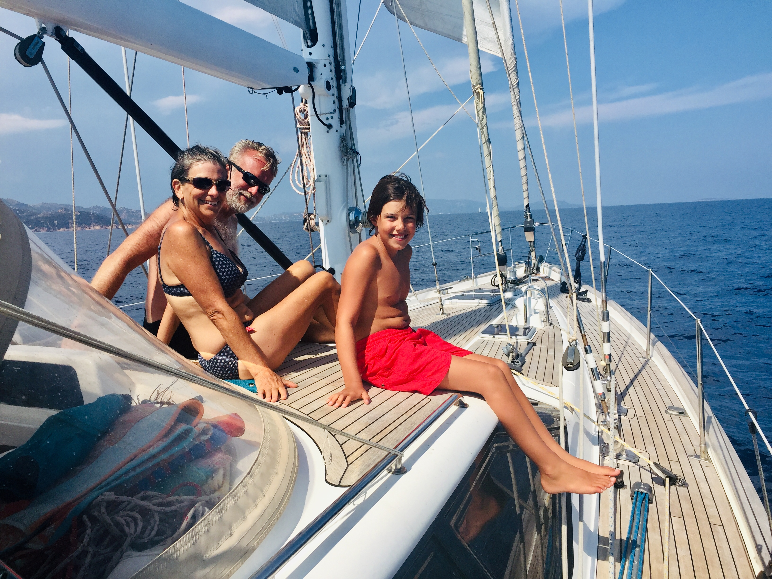 A Leisurely Sail in S Corsica