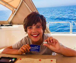 Hours of fun at sea